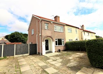 Thumbnail 3 bed semi-detached house for sale in Overchurch Road, Wirral