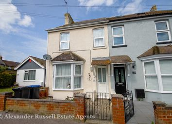 Thumbnail 3 bed end terrace house for sale in Richborough Road, Westgate-On-Sea