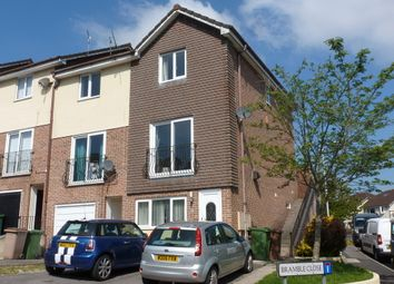 Thumbnail 3 bedroom end terrace house for sale in Bramble Close, Plymouth