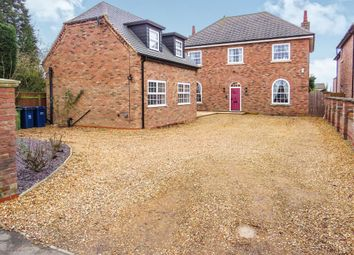 Thumbnail 5 bed detached house for sale in Main Road, Friday Bridge, Wisbech