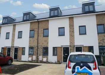 Thumbnail 4 bed town house to rent in Hartley Avenue, Fengate, Peterborough
