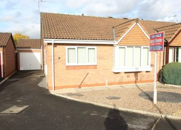 Thumbnail 2 bed semi-detached bungalow for sale in Heslop Court, Worksop