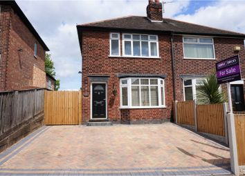 Thumbnail 3 bed semi-detached house for sale in Prospect Road, Nottingham