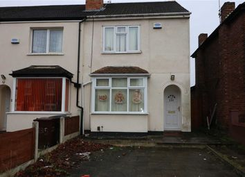 Thumbnail 3 bedroom end terrace house for sale in All Saints Road, Wolverhampton