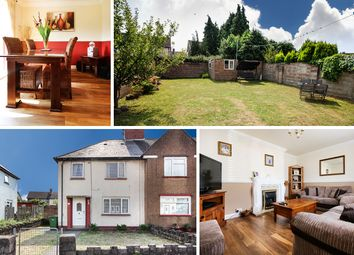 Thumbnail 3 bedroom semi-detached house for sale in Deemuir Road, Splott, Cardiff