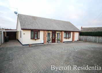 Thumbnail 2 bed detached bungalow for sale in Drift Road, Caister-On-Sea, Great Yarmouth