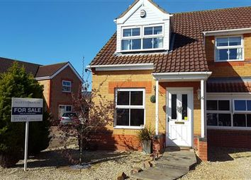 Thumbnail 3 bed semi-detached house for sale in Bray Close, Scartho Top, Grimsby