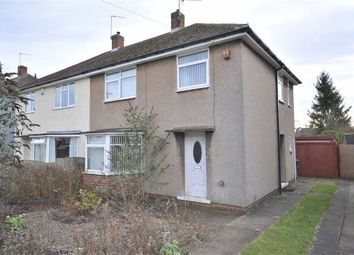 Thumbnail 3 bed semi-detached house for sale in Loscoe Road, Chaddesden, Derby