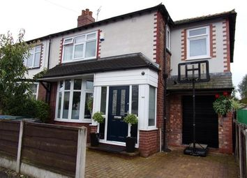 Thumbnail 4 bedroom semi-detached house for sale in Hawthorn Road, Gatley, Cheadle