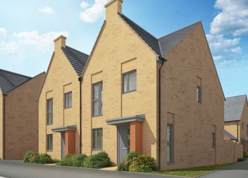 "Thumbnail 3 bed link-detached house for sale in ""The Cheveley"" at Heron Road, Northstowe, Cambridge"