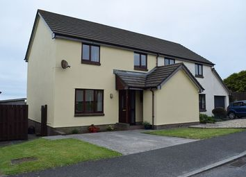 Thumbnail 3 bed semi-detached house to rent in Martin Close, Redruth