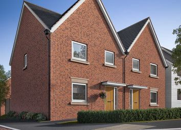 "Thumbnail 3 bed terraced house for sale in ""The Chilham"" at Fox Hill, Haywards Heath"