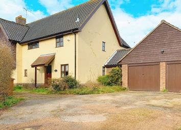 Thumbnail 4 bed detached house to rent in Stowmarket Road Wetherden, Stowmarket