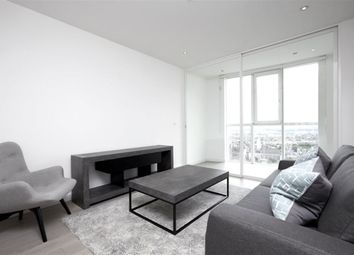 Thumbnail 1 bed flat to rent in Sky Gardens, Nine Elms, London