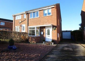 Thumbnail 3 bed semi-detached house for sale in Hovingham Drive, Scarborough