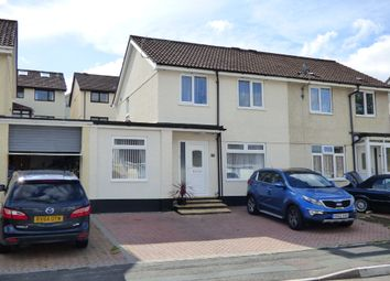 Thumbnail 3 bedroom semi-detached house for sale in Kenmare Drive, Plympton, Plymouth