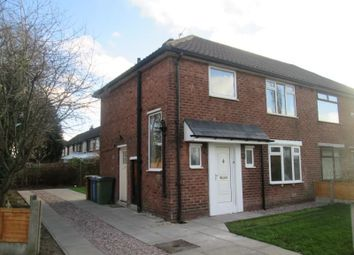 Thumbnail 3 bed semi-detached house to rent in Turves Road, Cheadle Hulme, Cheadle