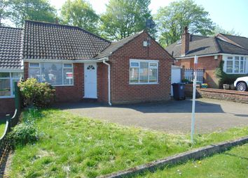 Thumbnail 3 bed detached bungalow to rent in Hillmorton Road, Sutton Coldfield