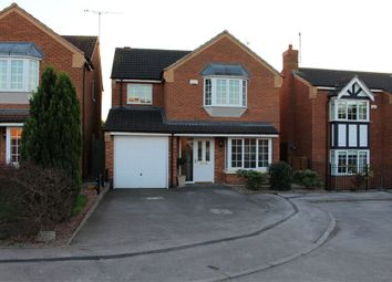 Thumbnail 4 bed detached house for sale in Broctone Close, Broughton Astley, Leicester