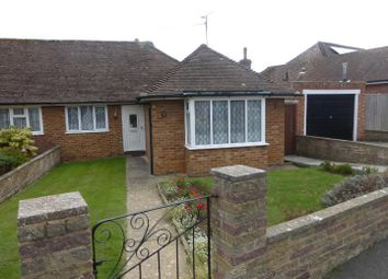 Thumbnail 2 bed semi-detached bungalow for sale in Grangecourt Drive, Bexhill-On-Sea