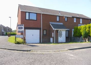 Thumbnail 3 bedroom semi-detached house for sale in Hensby Court, Westerhope, Newcastle Upon Tyne