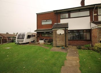 Thumbnail 4 bed town house for sale in Meadow Walk, Partington, Manchester