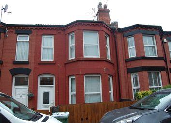 Thumbnail 4 bed terraced house to rent in Albert Road, Birkenhead