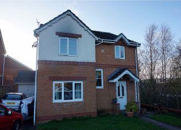 Thumbnail 4 bed detached house for sale in Llys Pentre, Bridgend