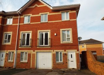 Thumbnail 4 bed end terrace house to rent in Keepers Close, Hockley, Birmingham