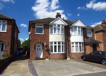 Thumbnail 3 bed semi-detached house for sale in Pinecroft Road, Ipswich