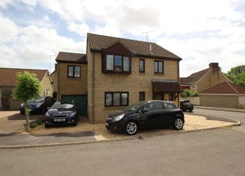 Thumbnail 4 bed detached house for sale in Brinkworth Close, Chippenham