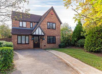 Thumbnail 4 bed detached house for sale in Isaacson Drive, Wavendon Gate, Milton Keynes, Buckinghamshire