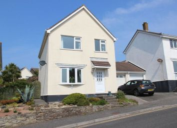 Thumbnail 3 bed detached house for sale in Curlew Close, Newquay