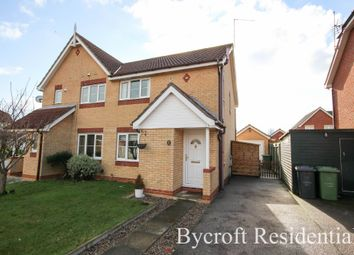 Thumbnail 3 bed semi-detached house for sale in Bridge Meadow, Hemsby, Great Yarmouth