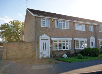 Thumbnail 3 bed end terrace house for sale in Glenbank Close, North Hykeham, Lincoln