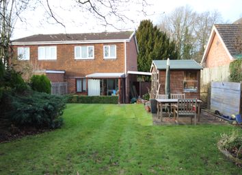 Thumbnail 3 bed semi-detached house to rent in Swallowfield Road, Arborfield, Reading