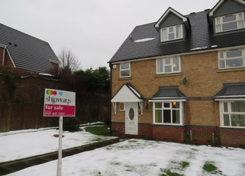 Thumbnail 6 bedroom end terrace house for sale in Mariner Avenue, Edgbaston, Birmingham
