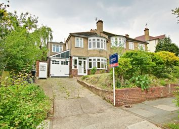 Thumbnail 4 bed semi-detached house to rent in Murray Avenue, Bromley
