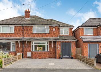 Thumbnail 4 bed semi-detached house for sale in Wingfield Avenue, Wilmslow, Cheshire
