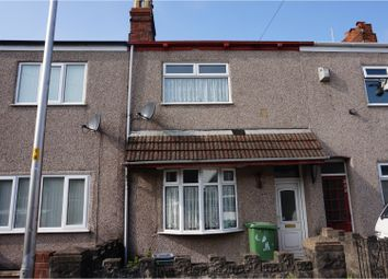 Thumbnail 3 bed terraced house for sale in Willingham Street, Grimsby