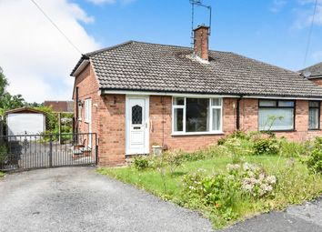 Thumbnail 2 bed bungalow for sale in Rannoch Close, Allestree, Derby