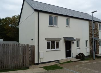 Thumbnail 3 bed semi-detached house for sale in Lower Rowe Court, Dobwalls, Liskeard