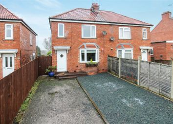 Thumbnail 3 bed semi-detached house for sale in Leafield Road, Bainton, Driffield