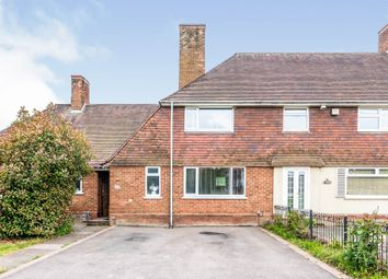 Thumbnail 3 bed terraced house for sale in Churchill Road, Sutton Coldfield