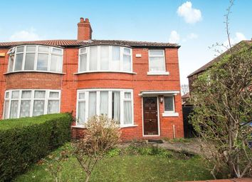 Thumbnail 3 bed semi-detached house to rent in Brentbridge Road, Fallowfield, Manchester