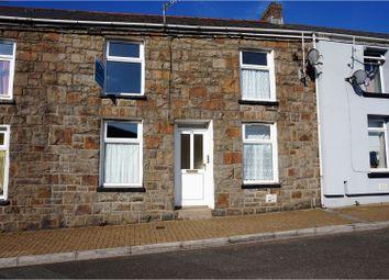 Thumbnail 2 bed terraced house for sale in Pembroke Terrace, Nantymoel, Bridgend