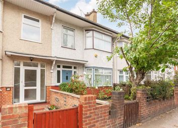 Thumbnail 3 bed terraced house to rent in North Acton Road, London