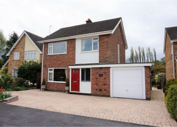 Thumbnail 3 bed detached house for sale in Grasmere, Coalville