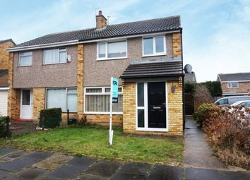 Thumbnail 3 bed semi-detached house for sale in Thornley Avenue, Billingham