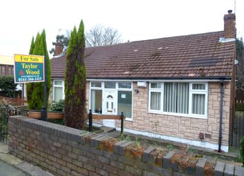 Thumbnail 2 bedroom semi-detached bungalow for sale in Seymour Street, Denton
